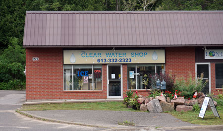 Clear Water Shop building